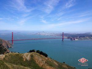 La plus fameuse et connue vue de San Francisco, mais on ne s'en lasse pas!