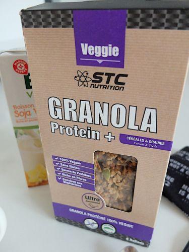 gallery Granola Protein+, un petit dej' riche en graines
