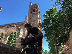gallery Aventure Montpellier-Millau-Toulouse à vélo : Étape 2 & 3