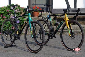 Une nouvelle ligne cyclocross chez Bombtrack, ici les Tension 2 et 3
