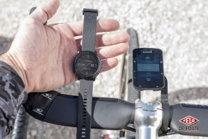 gallery Garmin de guidon VS Garmin de poignet