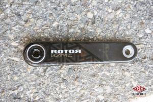 gallery Nouveauté : pédalier Rotor Kapic Carbon
