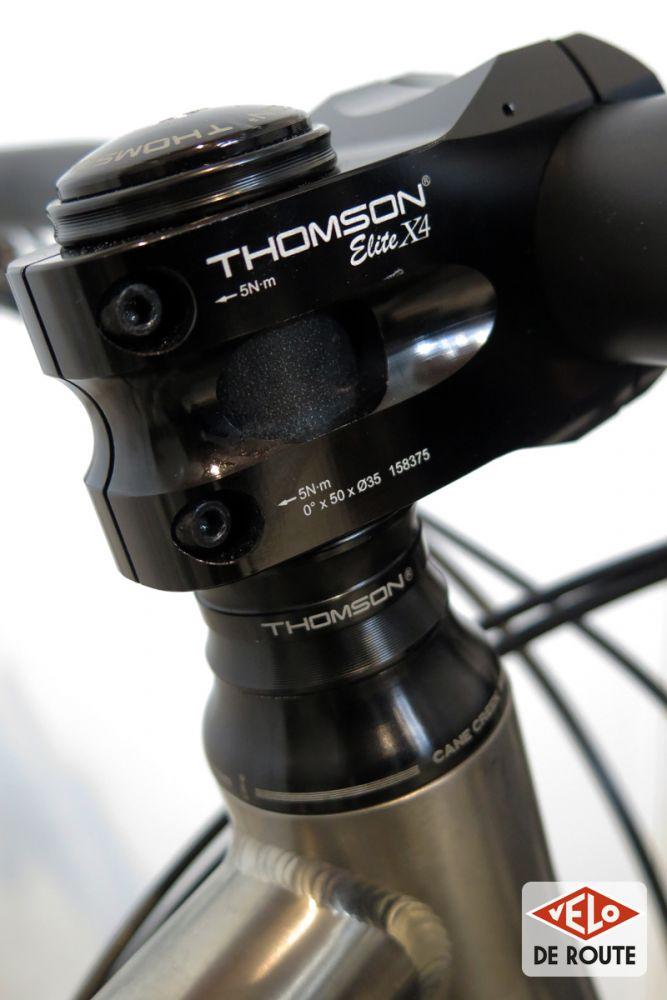 gallery Eurobike : Du nouveau et du titane chez Thomson