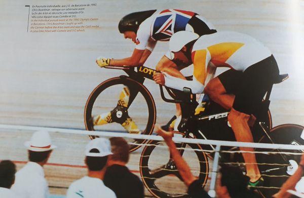 gallery British Cycling : un nouveau piste développé par Lotus et Hope