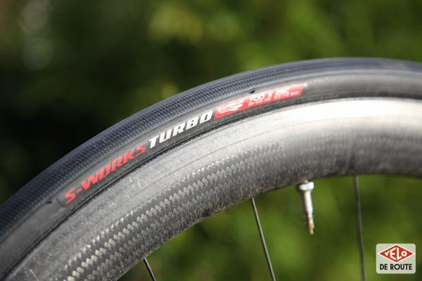 gallery Test : pneus S-Works Turbo RapidAir 2Bliss Ready