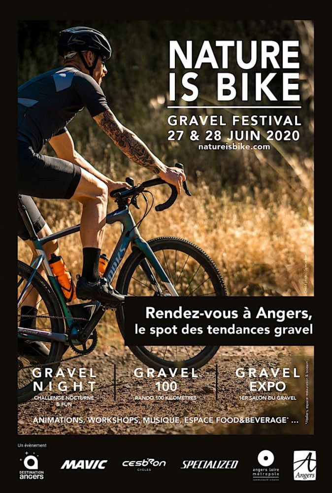 gallery Nature is Bike, un ambitieux événement Gravel à Angers