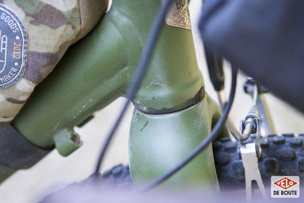 gallery Bike Check : le gravel Low Tec de Nico