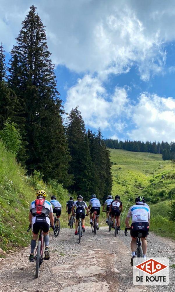 gallery Découverte : le tracé gravel de la Châtel Chablais Léman Race Race