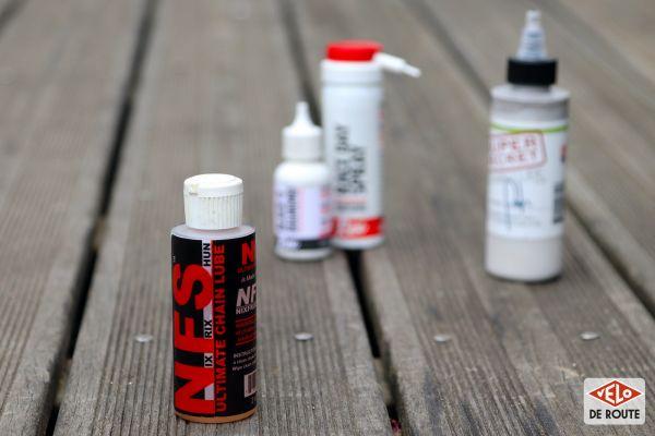 gallery Essais lubrifiants : NixFrixShun, Rex et Silca