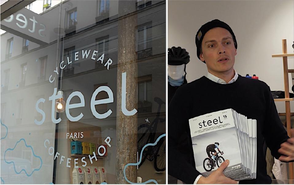 3dbe05e4201224 Marc Sich, le rédacteur en chef de Steel raconte l histoire passée et à  venir de la marque, du magazine, du cyclewear and coffeshop…