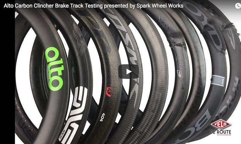 test roues vélo route