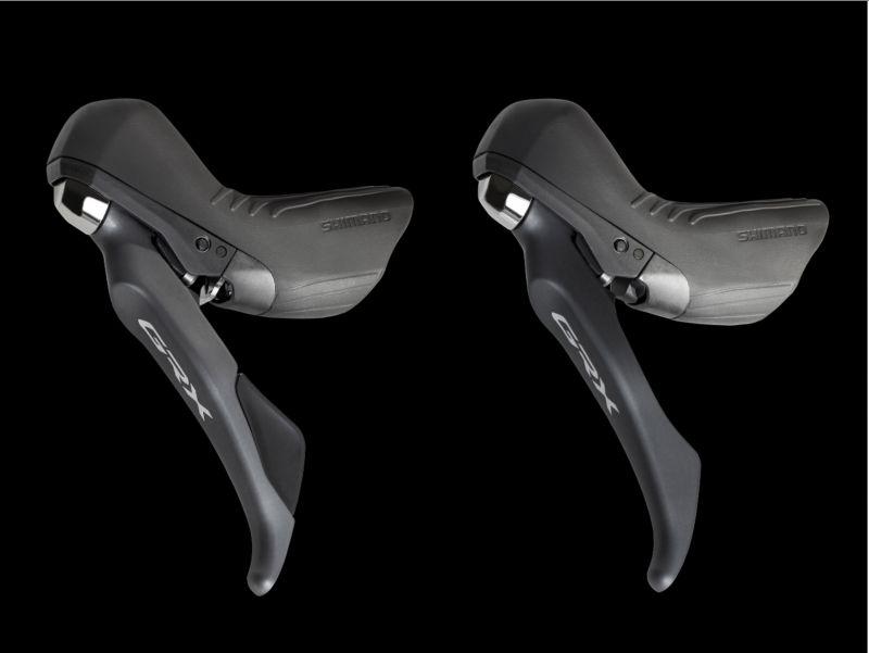 DROIT noir argent Shimano 105 boutons levier de frein st-5800 11-f